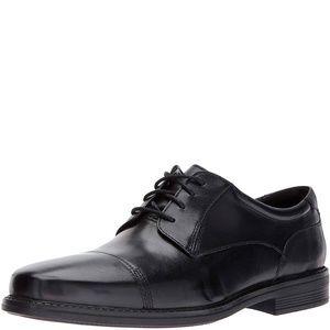 Bostonian Mens Wenham Black Leather 10.5 M